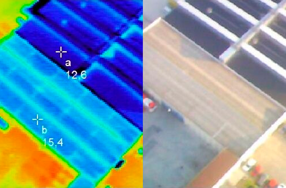 THERMOGRAFIC STUDY OF THE POSTAL AUTOMATED TREATMENT CENTER OF CORREOS IN ZARAGOZA (SPAIN)