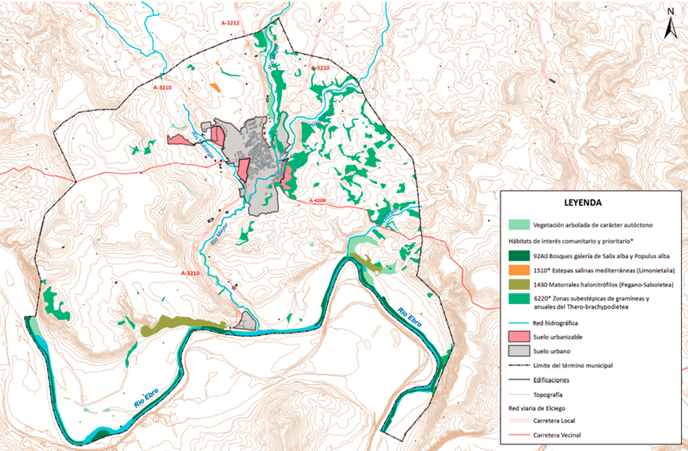 "ENVIRONMENTAL REPORT OF THE URBAN ORDINATION GENERAL PLAN OF ""EL CIEGO"" (ÁLAVA)."