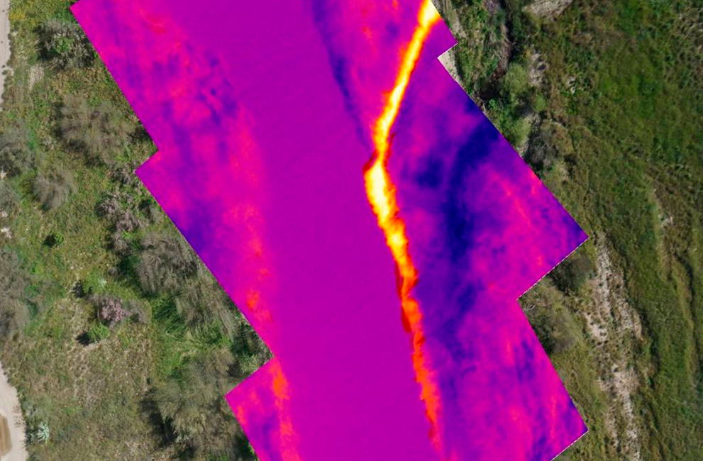 STUDIES THROUGH AERIAL THERMOGRAPHY OF THE THERMAL IMPACT OF A DISPOSAL IN THE RIVER GÁLLEGO IN ZARAGOZA (SPAIN)